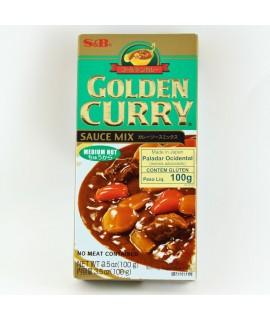 Golden Curry Chukara Medium Hot Sauce Mix - S&B 100g