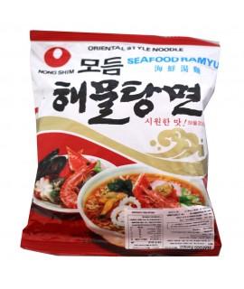 Lamen Seafood Ramyun Noodle Soup - Nong Shim 100g